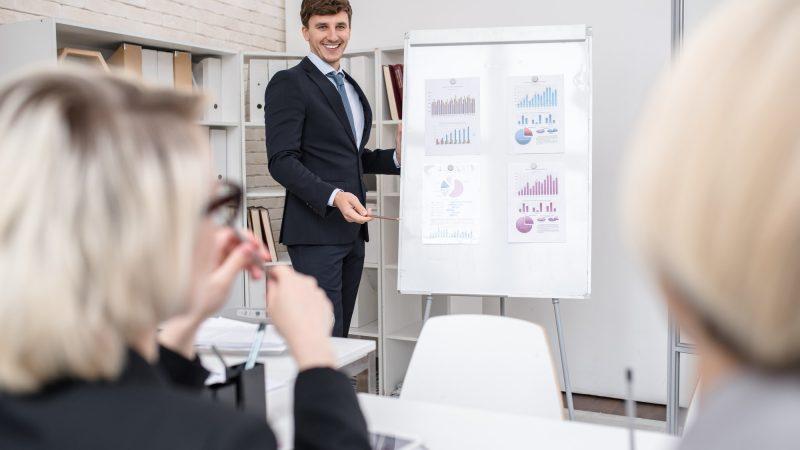 Marketing Presentation in Office